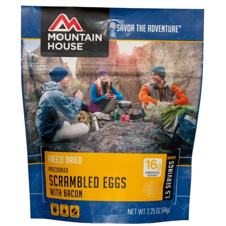 Mountain House Scrambled Eggs and Bacon - 1.5 Servings in See Photo