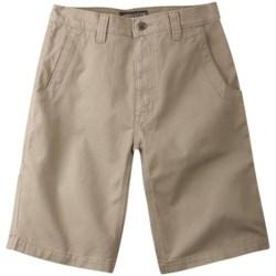Mountain Khakis Alpine Utility Shorts - Cotton Canvas (For Men) in Pine
