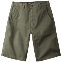 Mountain Khakis Alpine Utility Shorts - Cotton Canvas (For Men) in Pine - Closeouts