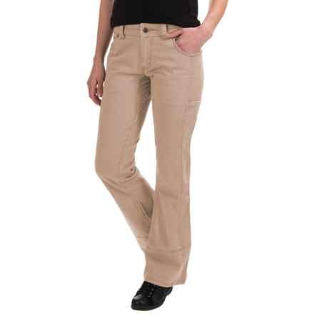 Mountain Khakis Ambit Pants - Bootcut, Classic Fit (For Women) in Desert Khaki - Closeouts