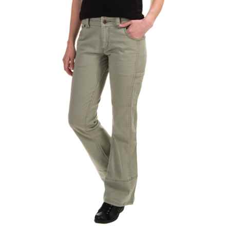 Mountain Khakis Ambit Pants - Bootcut, Classic Fit (For Women) in Truffle - Closeouts
