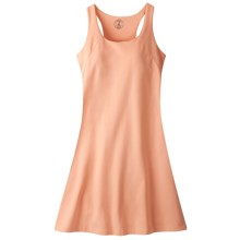 Mountain Khakis Anytime Jersey Knit Dress - Sleeveless (For Women) in Coral - Closeouts