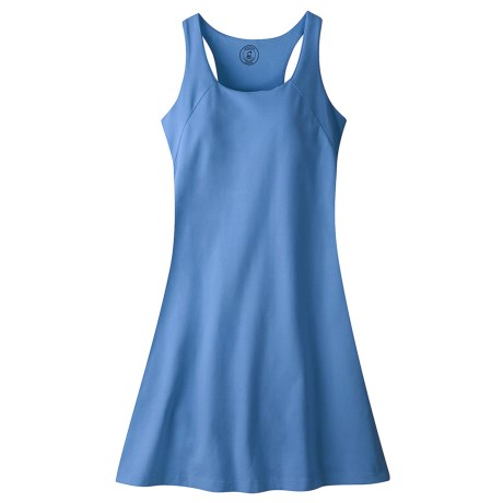 Mountain Khakis Anytime Jersey Knit Dress - Sleeveless (For Women) in Coral