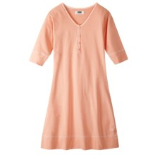 Mountain Khakis Anytime Knit Dress - Elbow Sleeve (For Women) in Coral - Closeouts