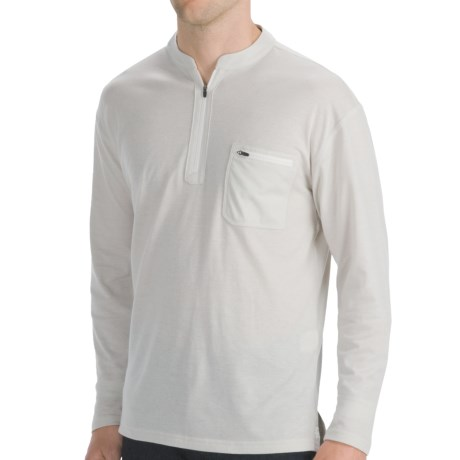 Mountain Khakis Approach Henley - UPF 50+, Long Sleeve (For Men) in Stone
