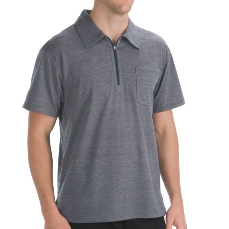 Mountain Khakis Approach Polo - UPF 50+, Short Sleeve (For Men) in Stone