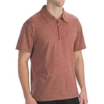 Mountain Khakis Approach Polo - UPF 50+, Short Sleeve (For Men) in Brick Red