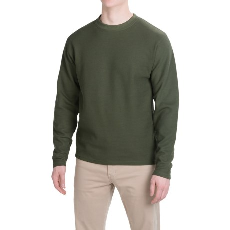 Mountain Khakis Belgian Shirt Crew Neck, Long Sleeve (For Men)