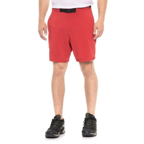 585cae1054 Mountain Khakis Belted Shifter Shorts - UPF 45+ (For Men) in Engine Red