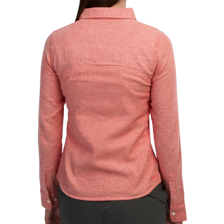 Mountain khakis cache creek shirt for women 8450u save 81 for Brushed cotton twill shirt
