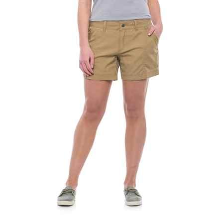 Mountain Khakis Camber 104 Shorts (For Women) in Desert Khaki - Closeouts