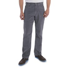 Mountain Khakis Canyon Cord Pants - Stretch Cotton (For Men) in Ash - Closeouts