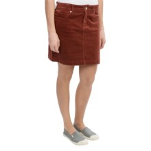 Mountain Khakis Canyon Cord Skirt (For Women) in Oxblood - Closeouts