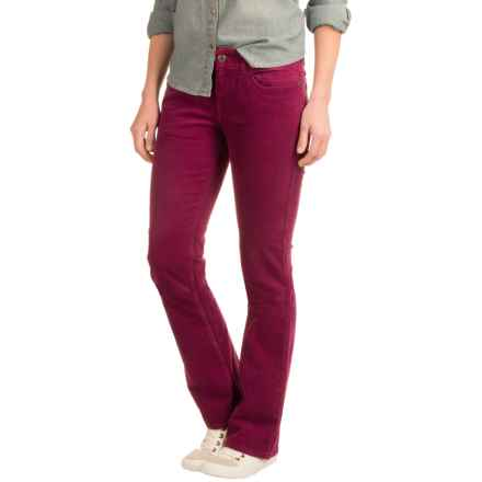Mountain Khakis Canyon Corduroy Pants - Slim Fit (For Women) in Hollyhock - Closeouts