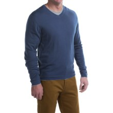 Mountain Khakis Cascade Sweater - Merino Wool, V-Neck (For Men) in Deep Blue - Closeouts