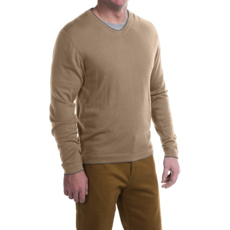 Mountain Khakis Cascade Sweater Merino Wool, V Neck (For Men)