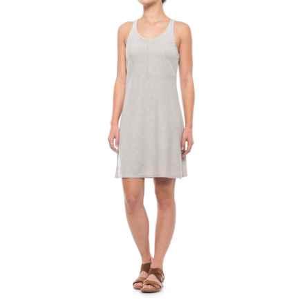Mountain Khakis Contour Dress - Sleeveless (For Women) in City Block/Linen - Closeouts