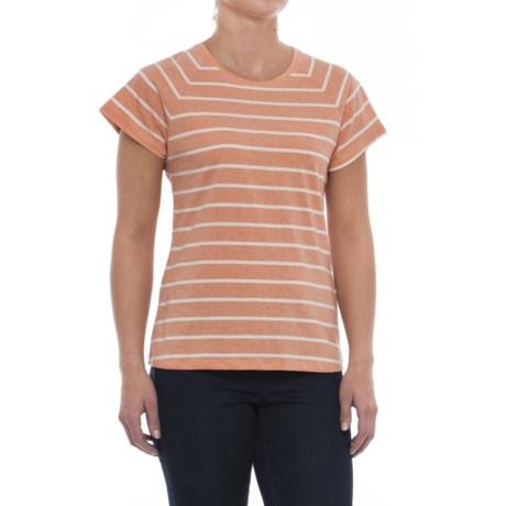 Mountain Khakis Cora Shirt - Short Sleeve (For Women) in Peachy