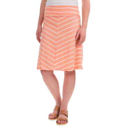 Mountain Khakis Cora Skirt - Classic Fit (For Women) in Peachy - Closeouts