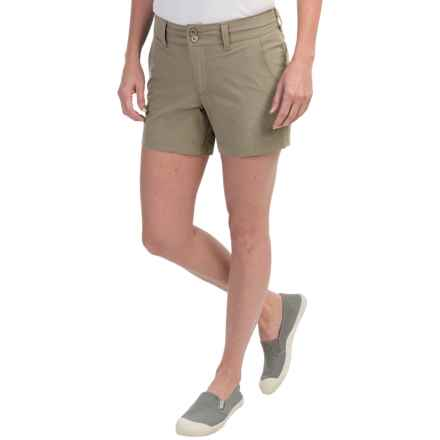 Mountain Khakis Cruiser Shorts (For Women) in Truffle - Closeouts