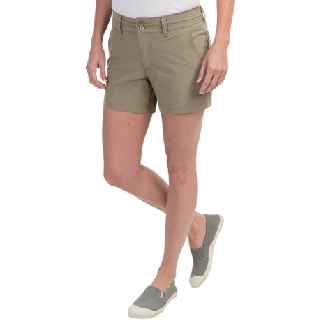 Mountain Khakis Cruiser Shorts (For Women) in Truffle