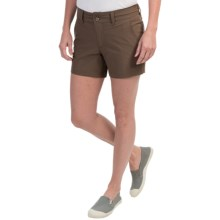 Mountain Khakis Cruiser Shorts (For Women) in Wren - Closeouts
