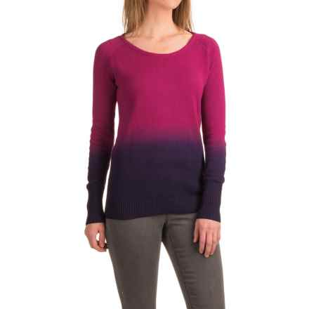 Mountain Khakis Darby Dip-Dyed Sweater - Cotton-Modal (For Women) in Hollyhock - Closeouts