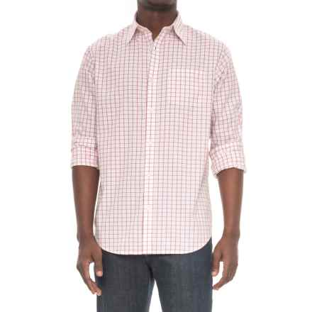 Mountain Khakis Davidson Stretch Oxford Shirt - Long Sleeve (For Men) in Rojo Check - Closeouts