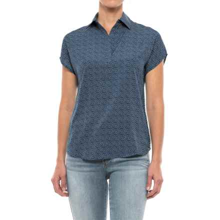 Mountain Khakis Emma Shirt - Short Sleeve (For Women) in Midnight Blue Pebble - Closeouts