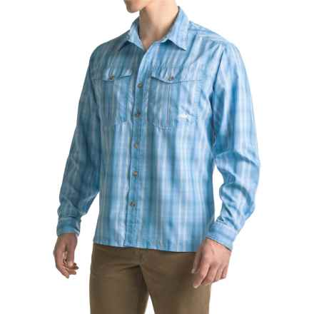 Mountain Khakis Equatorial Shirt - UPF 40+, Long Sleeve (For Men) in Blue Note - Closeouts