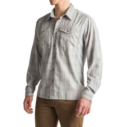 Mountain Khakis Equatorial Shirt - UPF 40+, Long Sleeve (For Men) in City Block - Closeouts