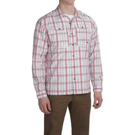 Mountain Khakis Equatorial Shirt - UPF 40+, Long Sleeve (For Men) in Engine Red Plaid - Closeouts