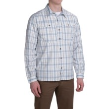 Mountain Khakis Equatorial Shirt - UPF 40+, Long Sleeve (For Men) in High Tide Plaid - Closeouts