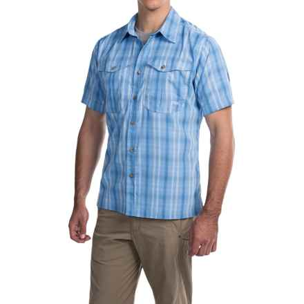 Mountain Khakis Equatorial Shirt - UPF 40+, Short Sleeve (For Men) in Blue Note - Closeouts