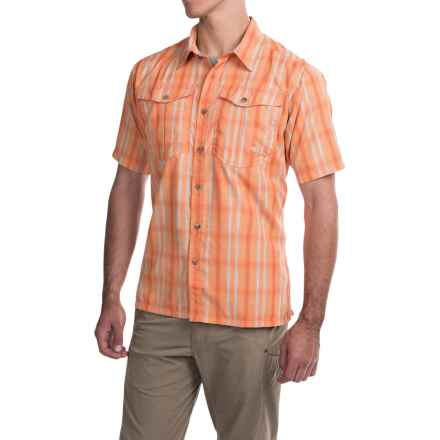 Mountain Khakis Equatorial Shirt - UPF 40+, Short Sleeve (For Men) in Peachy - Closeouts