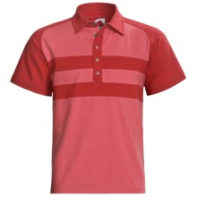 Mountain Khakis Fairway Polo Shirt - Short Sleeve (For Men) in Engine Red/Burnt Henna - Closeouts