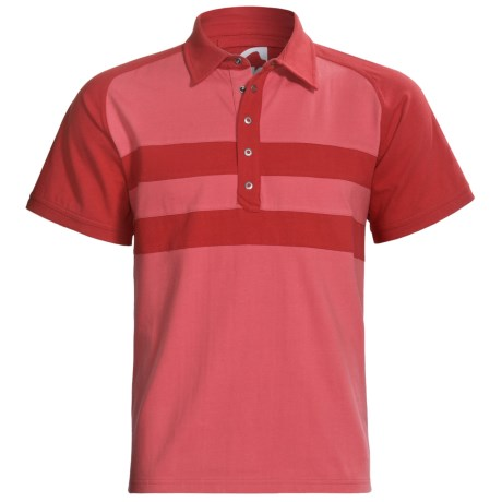 Mountain Khakis Fairway Polo Shirt - Short Sleeve (For Men) in Turf