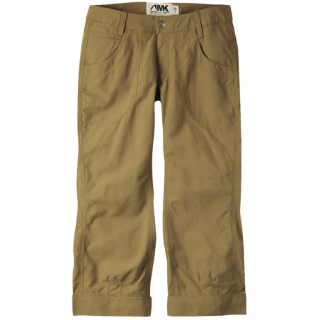 Mountain Khakis Granite Creek Capris - UPF 50+ (For Women) in Mushroom