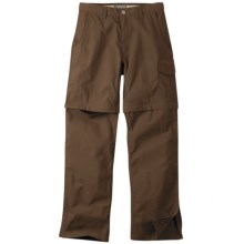 Mountain Khakis Granite Creek Convertible Pants - UPF 50+ (For Men) in Earth - Closeouts