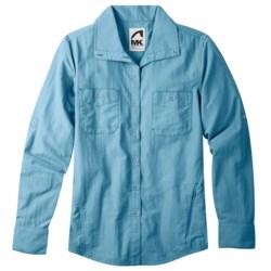 Mountain Khakis Granite Creek Shirt - UPF 50+, Brushed Nylon, Long Sleeve (For Women) in Pool Blue