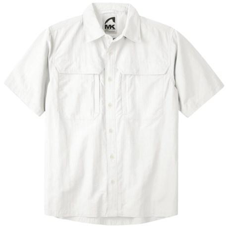 Mountain Khakis Granite Creek Shirt - UPF 50+, Peached Nylon, Short Sleeve (For Men) in Linen