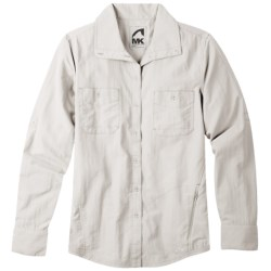 Mountain Khakis Granite Creek Shirt - UPF 50+, Roll-Up Long Sleeve (For Women) in Linen