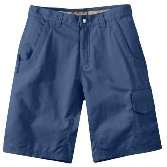 Mountain Khakis Granite Creek Shorts - UPF 50+ (For Men) in Blue Work