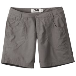 Mountain Khakis Granite Creek Shorts - UPF 50+ (For Women) in Ash