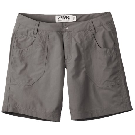 Mountain Khakis Granite Creek Shorts - UPF 50+ (For Women) in Ash