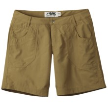 Mountain Khakis Granite Creek Shorts - UPF 50+ (For Women) in Mushroom - Closeouts