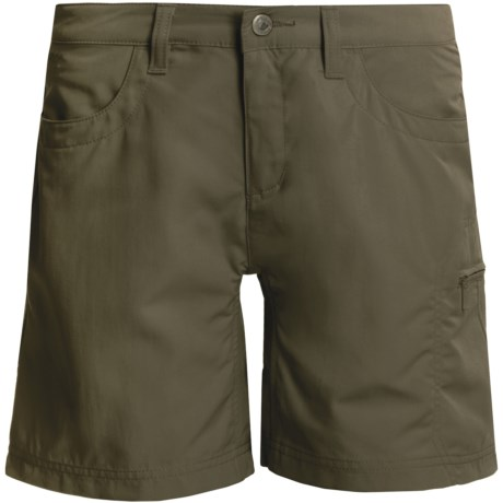 Mountain Khakis Granite Creek Shorts - UPF 50+ (For Women) in Pine