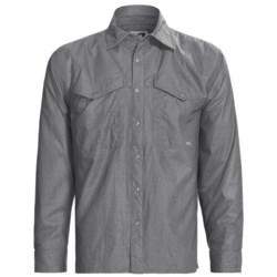 Mountain Khakis Granite Creek Windshirt - UPF 50+, Long Sleeve (For Men) in Graphite