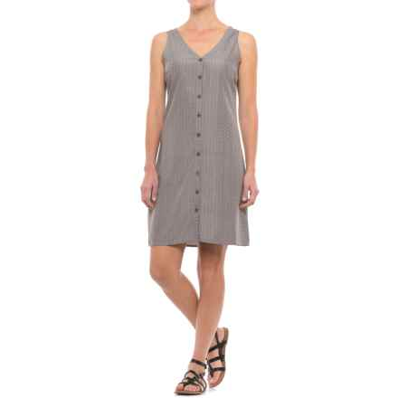 Mountain Khakis Hailey Dress - V-Neck, Sleeveless (For Women) in Gunmetal - Closeouts