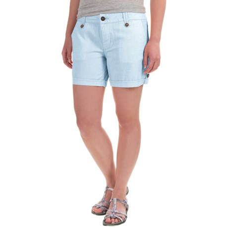 Mountain Khakis Island Shorts (For Women) in Blue Note